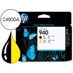 Cabezal HP 940 negro y amarillo referencia C4900A