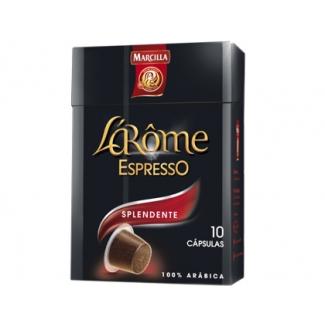 Cafe Marcilla l arome espresso splendente fuerza 7 caja de 10 unidades compatiblecon nesspreso