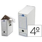 Caja archivo definitivo Liderpapel tamaño cuarto