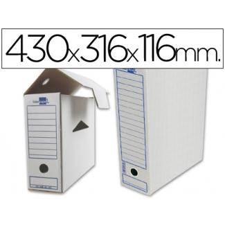 Caja archivo definitivo Liderpapel para listados de ordenador