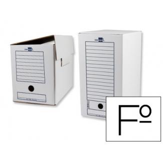 Liderpapel DF13 - Caja archivo definitivo de cartón, tamaño doble ancho