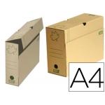 Caja de archivo definitivo Fast-PaperFlow ecoline cartón marrón tamaño A4