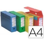 Caja de archivo definitivo polipropileno Fast-PaperFlow tamaño A4 colores surtidos