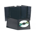 Caja dvd Q-Connect con interior color negro pack de 5 unidades