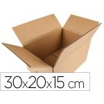 Caja para embalar Q-connect americana medidas 300x200x150 mm espesor cartón 5 mm