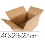 Caja para embalar Q-connect americana medidas 400x290x220 mm espesor cartón 5 mm