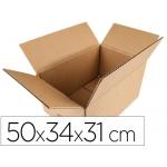 Caja para embalar Q-connect americana medidas 500x340x310 mm espesor cartón 5 mm