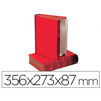 Caja transferencia lomo libro
