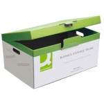 Cajon archivo definitivo Q-connect cartón tapa fija montaje manual