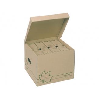 Cajon Fast-PaperFlow cartón ecoline para almacenamiento de archivadores capacidad 4 cajas de archivo