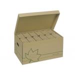 Cajon Fast-PaperFlow cartón ecoline para almacenamiento de archivadores capacidad 6 cajas de archivo