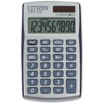 Calculadora Citizen 10 digitos 105x64x10 mm