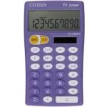 Calculadora Citizen 10 digitos color violeta junior pedagógica