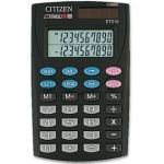 Calculadora Citizen 10 digitos doble pantalla con tecla de impuestos