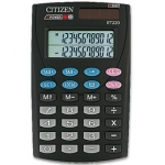 Calculadora Citizen 12 digitos doble pantalla con tecla de impuestos