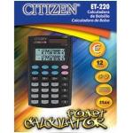 Calculadora Citizen 12 digitos doble pantalla con tecla de impuestos en blister