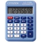 Calculadora Citizen 8 digitos color celeste