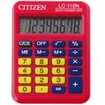 Calculadora Citizen 8 digitos color roja