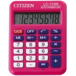 Calculadora Citizen 8 digitos color rosa