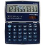 Calculadora Citizen 10 digitos color azul metálico 106x63x14 mm