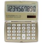 Calculadora Citizen 10 digitos color crema champan 106x63x14 mm