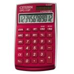 Calculadora Citizen 12 digitos color burdeos burgundy 720x120x90 mm