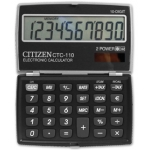 Calculadora Citizen 10 digitos negra