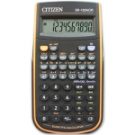 Calculadora Citizen científica color naranja 128 funciones