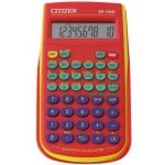 Calculadora Citizen científica color roja 128 funciones 8+2 digitos 154x84x19 mm