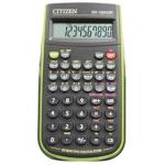 Calculadora Citizen científica color verde 128 funciones