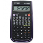 Calculadora Citizen científica color violeta 128 funciones