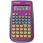 Calculadora Citizen científica color violeta 128 funciones 8+2 digitos 154x84x19 mm