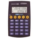 Calculadora Citizen euro 10 digitos doble pantalla negra en blister