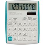 Calculadora Citizen sobremesa 8 digitos vivid bordes celestes