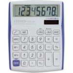 Calculadora Citizen sobremesa 8 digitos vivid bordes color violeta