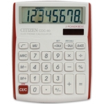 Calculadora Citizen sobremesa 8 digitos vivid bordes rojos