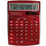 Calculadora Citizen sobremesa B 12 digitos color burdeos burgundy 208x155x30.5 mm