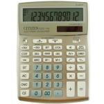 Calculadora Citizen sobremesa B 12 digitos color crema champáginasne 208x155x30.5 mm