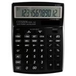 Calculadora Citizen sobremesa 12 digitos negra 202x155x33 mm