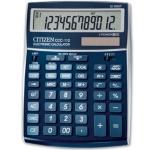 Calculadora Citizen sobremesa B blue met 12 digitos 208x155x30,5 mm