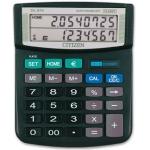 Calculadora Citizen sobremesa euro 12 digitos doble pantalla negra