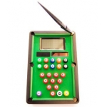Calculadora fantasía billar con bolígrafo