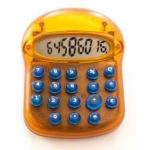 Calculadora fantasía diseño moderno color Imac naranja