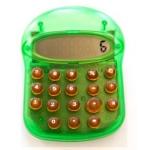 Calculadora fantasía diseño moderno color Imac verde