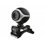 Camara web Trust 300k 1,3 megapixeles usb 2.0 micrófono integrado