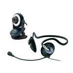 Camara web con auricular Trust chat pack