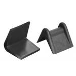 Cantónera de plastico veltkamp negra con sujeccion caja de 2000 unidades