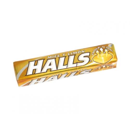 Caramelos Halls con miel y limon 32 gr - Papelería Distrimar