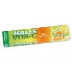 Caramelos Halls con vitamina c sin azucar 32 gr