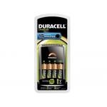 Cargador Duracell para pilas recargables cef 15 incluye 4 pilas aa
